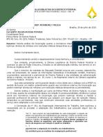 Ofício PMDF Restrição Médica - Deputado Roosevelt Vilela