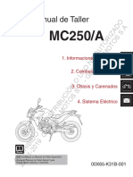 Manual de taller Honda MC250-A