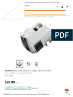 Southwire Single Outlet White GFCI Adapter with Manual Reset _ The Home Depot Canada