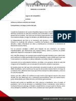 Mensaje a la Nación del presidente Martín Vizcarra (28 - 07 - 2020)