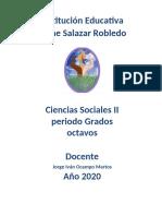 Guía 3 Ciencias Sociales II Período SOLUCION.