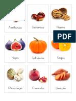 3 part cards Otoño frutos y frutas Castellano.pdf