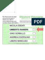 Facsimile Ranieri