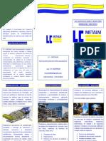 TRIPTICO PUBLICITARIO LC-METALM