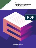 E-book Guia Completo Sobre a Redação Do Enem