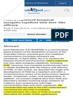 PMD, a registered botanical mosquito repellent with deet-like efficacy - PubMed