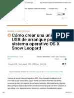 Cómo crear una unidad USB de arranque para el sistema operativo OS X Snow Leopard.pdf