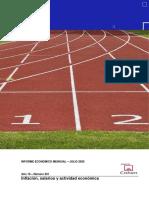 Informe Económico Mensual del IAE Business School