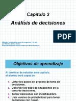 CAPITULO 3. ANALISIS DE DECISIONES