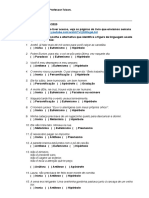 Língua portuguesa 1o B de Logística