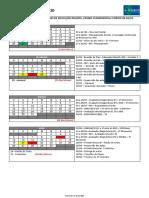 Calendário do ano letivo de 2020_PRUDENTE e BEI
