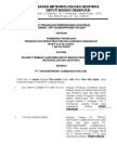 Surat Perjanjian Pemborongan Tca & Bmg