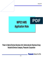 MIP521A Application note_ver.2-5