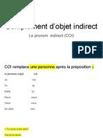 Complement d'objet indirect