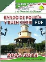 Arcelia bando de policia y buen gobierno