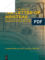 The Letter of Aristeas 'Aristeas to Philocrates' or 'On the Translation of the Law of the Jews' by Benjamin G. Wright III (z-lib.org).pdf