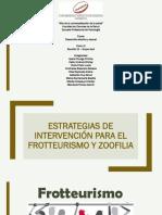 Estrategias frotteurismo y zoofilia