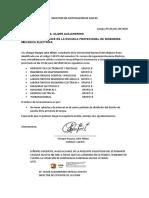 SOLICITUD DE JUSTIFICACIÓN DE FALTAS..[F]