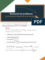 M11_S3_Resolución de problemas con ecuaciones lineales de una sola variable