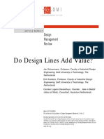 do design lines add value