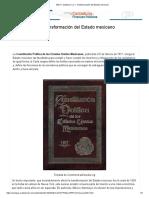 M4.U1. Subtema 1.2.1. Transformación del Estado mexicano