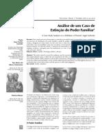 Análise de um caso de extinção PF