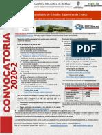 CONV DE NUEVO INGRESO  20-2 semipresencial-mayo