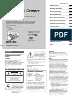 Sony DSC-F828 camera manual