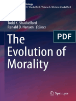 The Evolution of Morality - Todd K. Shackelford y Ranald D. Hansen