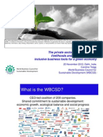 Inclusive Business tools to create livelihoods and jobs for the poor in the context of climate change adaptation and the green economy - presentation