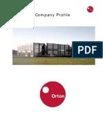 ORTON - Company Profile 31-12-09