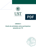3. TIC Diseño de Actividades