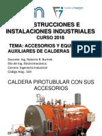 Accesorios y equipos auxiliares de calderas industriales