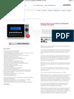 Modello_ M8990 - Prova di tenuta a calo assoluto di pressione standard level M8990 - For Test