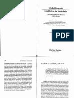 (txt 4) FOUCAULT, Michel. Em defesa da sociedade - aula de 17 de mar+ºo de 1976.pdf