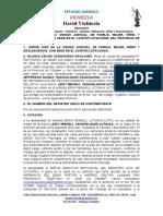 modelo de demanda de investigacion de paternidad JEFFERSON DANILO