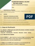 APUNTES PARCIALES MANUAL CALIDAD  2020