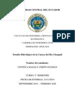ESTUDIO CUENCA HIDROGRÀFICA
