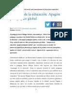 LUIS BONILLA (2020). AUTOPSIA DEL APAGON PEDAGOGICO