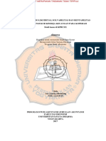 Analisis Rasio Likuiditas, Solvabilitas & Rentabilitas Untuk Mengukur Kinerja Pada Koperasi