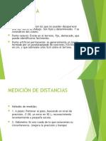 TEODOLITO LECTURA Y DISTANCIAS
