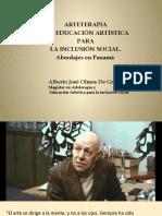 Algunas practicas de Arteterapia y Educación artística para la inclusión social en Panamá