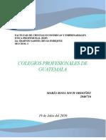 COLEGIOS DE PROFESIONALES EN GUATEMALA (TAREA 1)