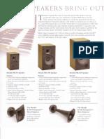 Allen Speakers Brochure