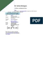 Abjad Fonetik Antarabangsa