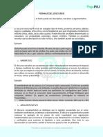6. FORMAS DEL DISCURSO