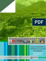 Plan de Desarrollo Urbano de la Ciudad de Huánuco P á g