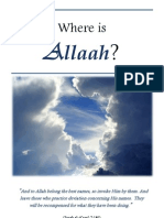 Where is Allaah