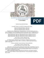 ACATISTUL SFÂNTULUI ACOPERĂMÂNT AL MAICII DOMNULUI
