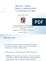 3- Muestreo, análisis organoléptico